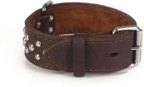 Halsband - Noppy - 30/39x4 cm - Bruin - Beeztees